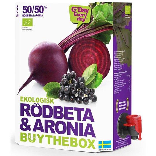 Eko Juice Rödbeta & Aronia - 22% rabatt
