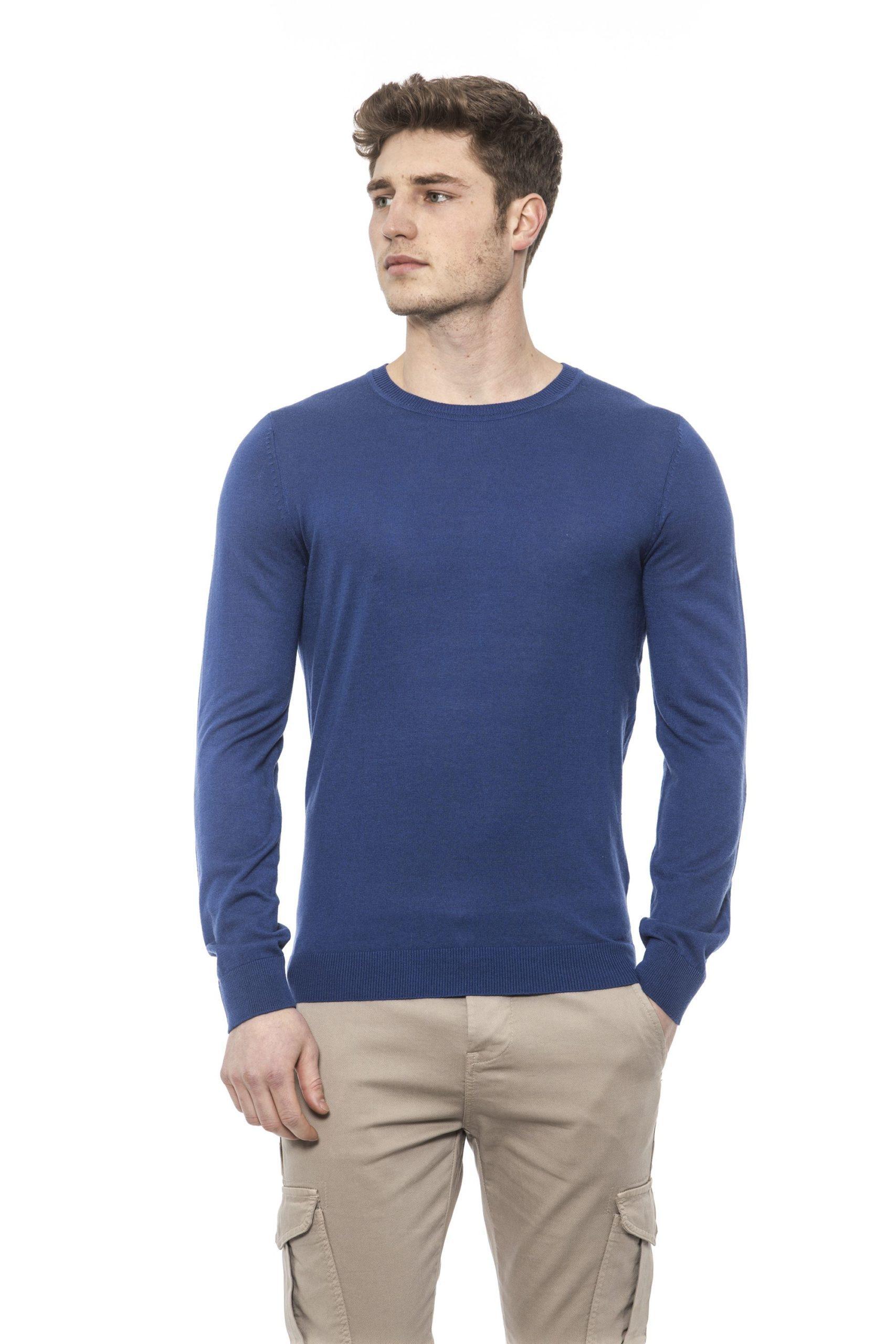 Alpha Studio Men's Royal Sweater Blue AL1374561 - IT46 | S