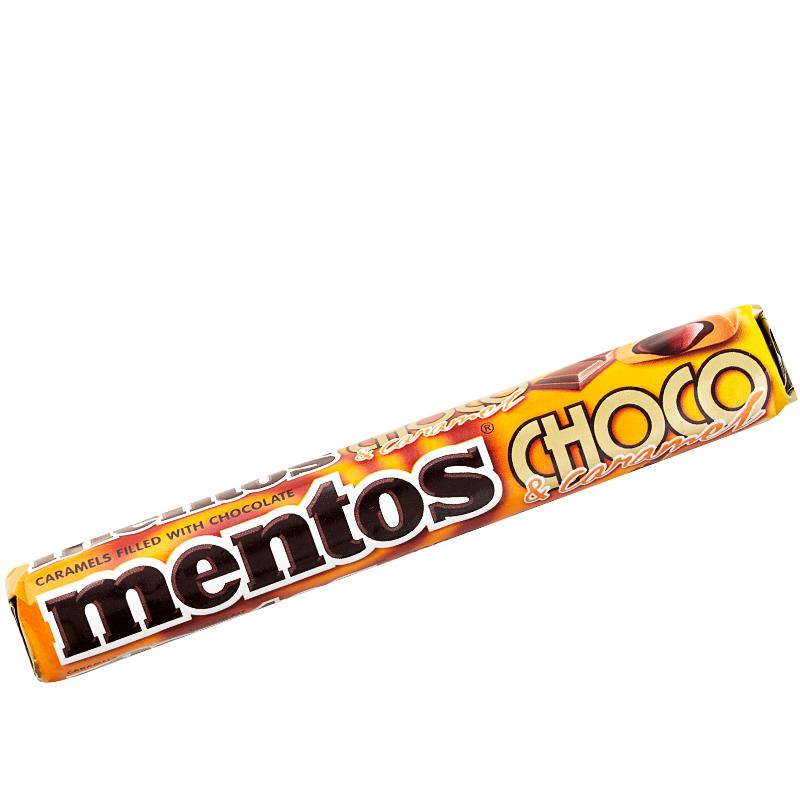 Mentos Choco & Caramel roll - 25% rabatt