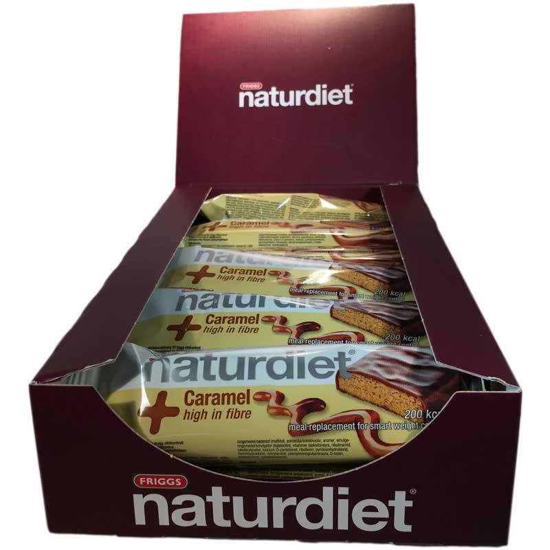 Hel låda Naturdiet Mealbar Caramel - 58% rabatt
