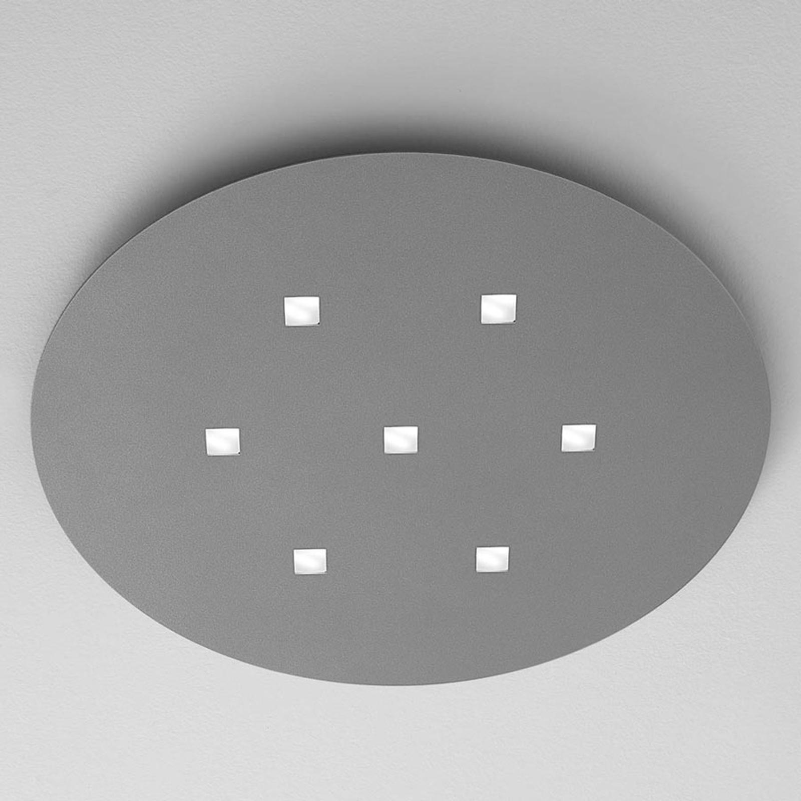 ICONE Isi -LED-kattovalaisin, ovaalinmuotoinen