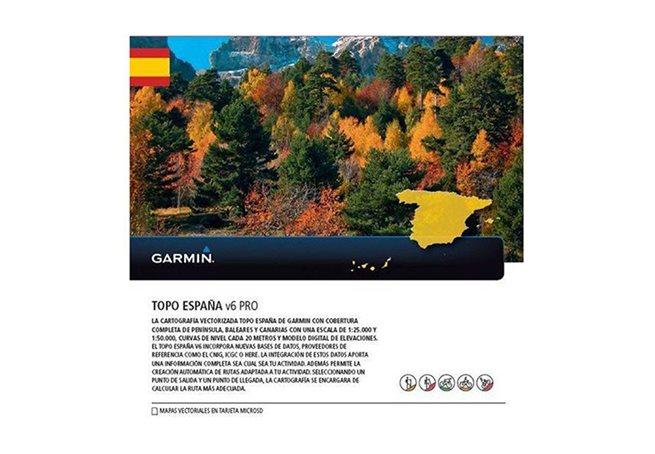 Garmin TOPO Spanien v6 PRO Garmin microSD™/SD™-kort