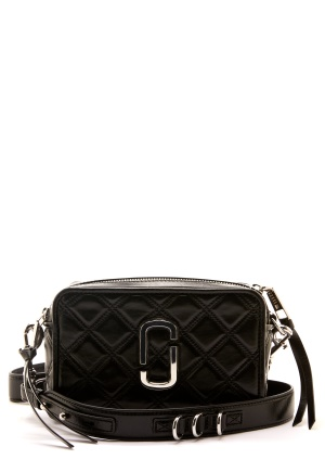 The Marc Jacobs The Quilted Softshot 21 001 Black One size