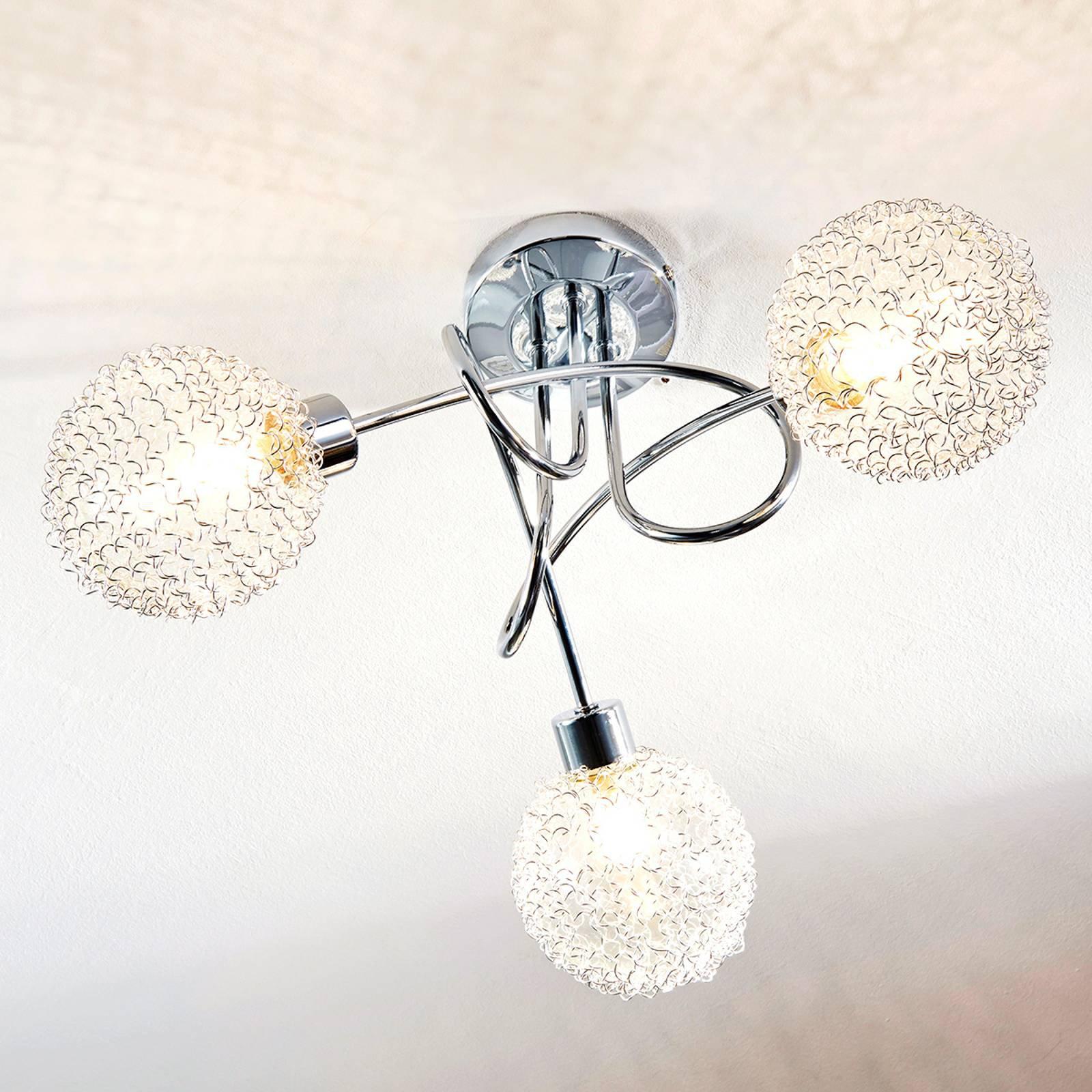 Ticino - LED-taklampe, 3-punkts