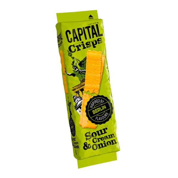 Capital Crisps Sourcream & Onion - 75 gram
