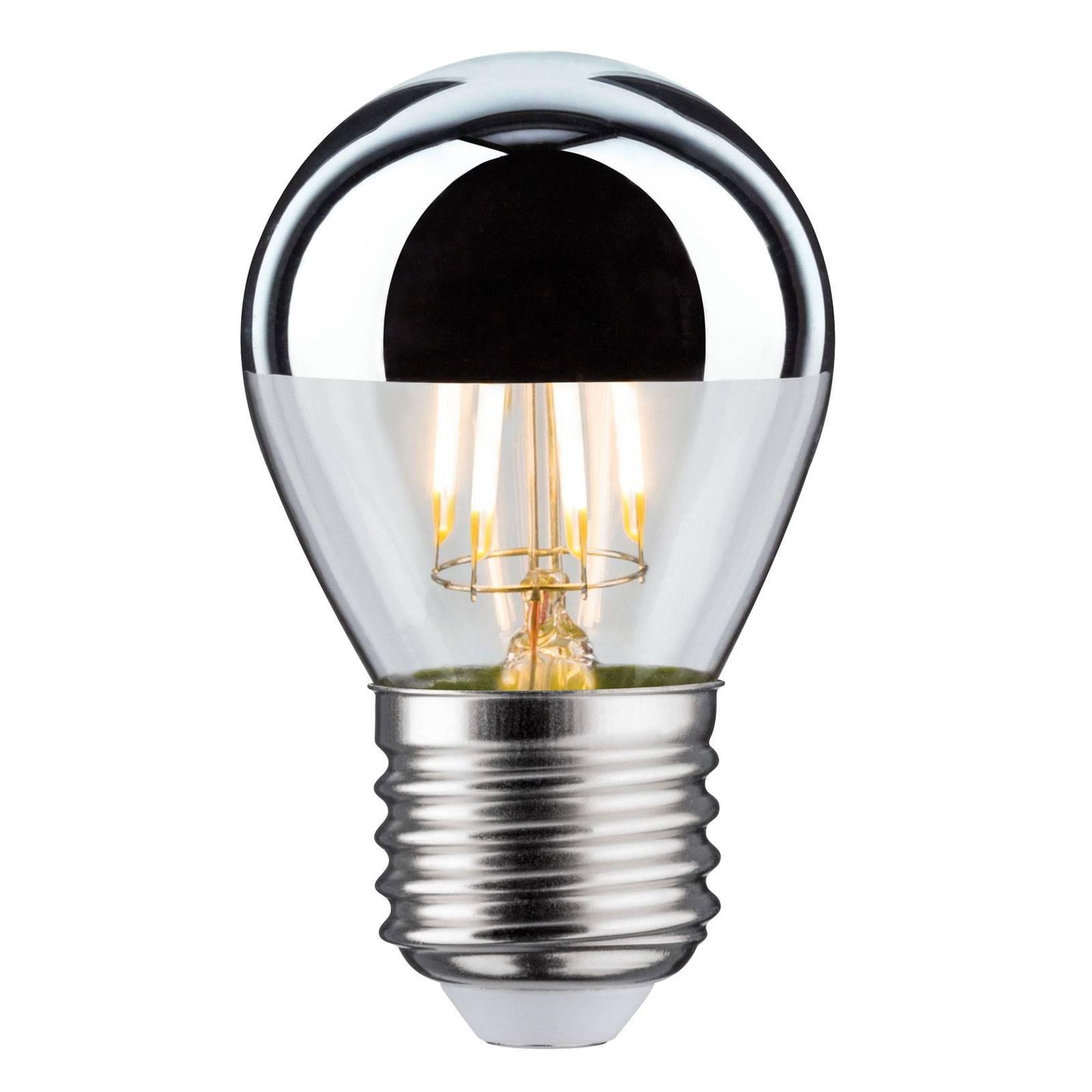 LED-lamppu E27 pisara 827 pääpeili 4,8W himmennys