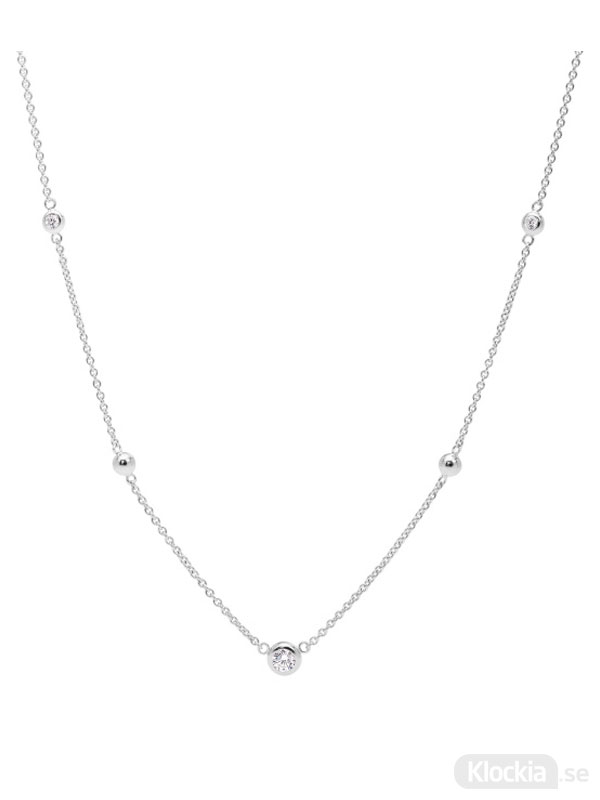 Damsmycke FOSSIL Halsband Sterling Silver JFS00453040