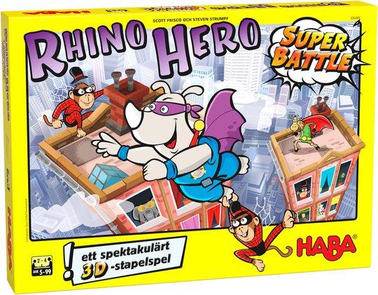 HABA Spill Rhino Hero Super Battle