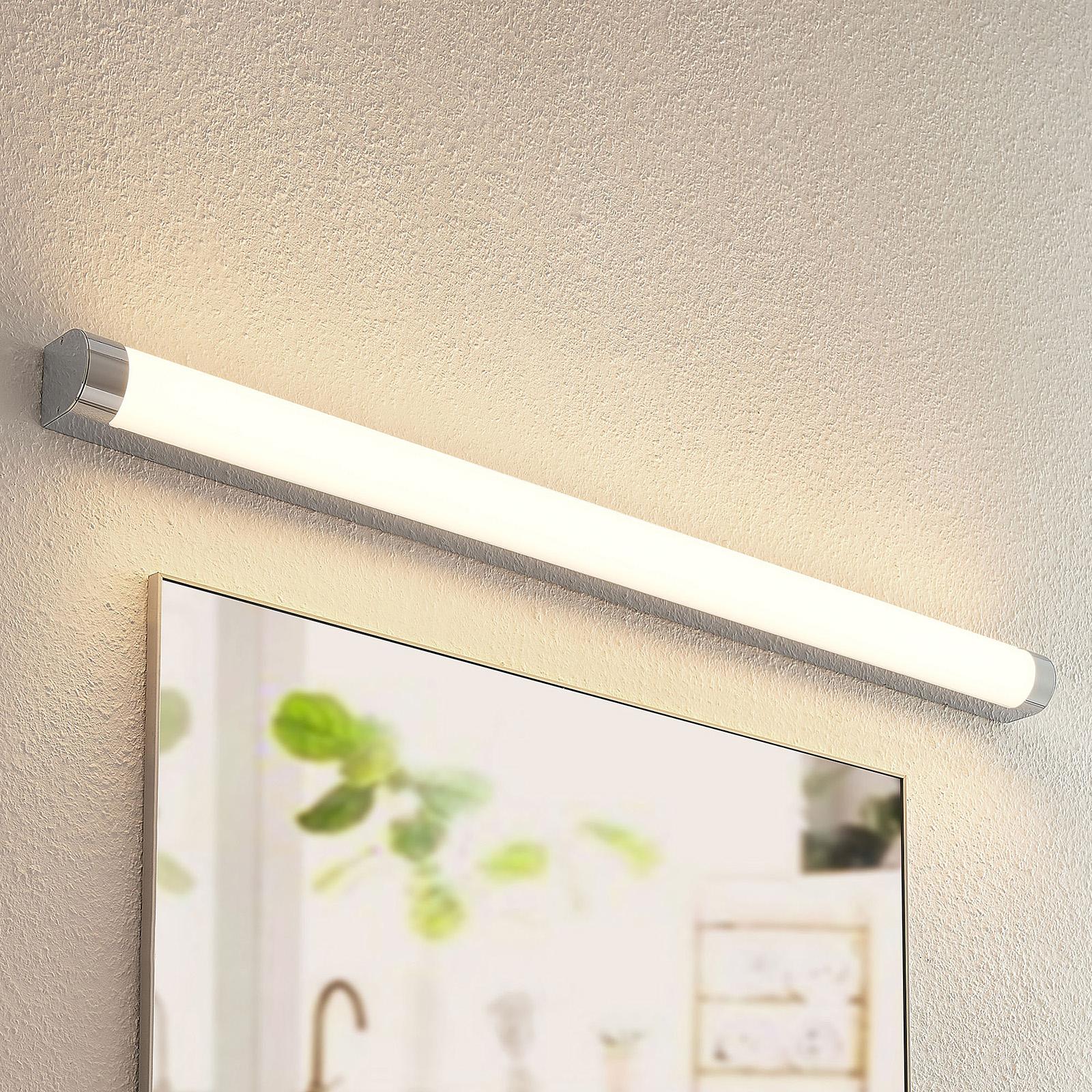 Lindby Nava -LED-seinävalo kylpyhuoneeseen, 120 cm