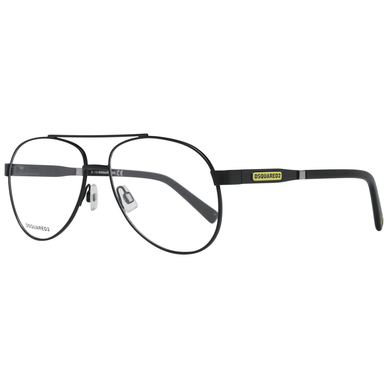 Dsquared² Men's Optical Frames Eyewear Black DQ5308 56002
