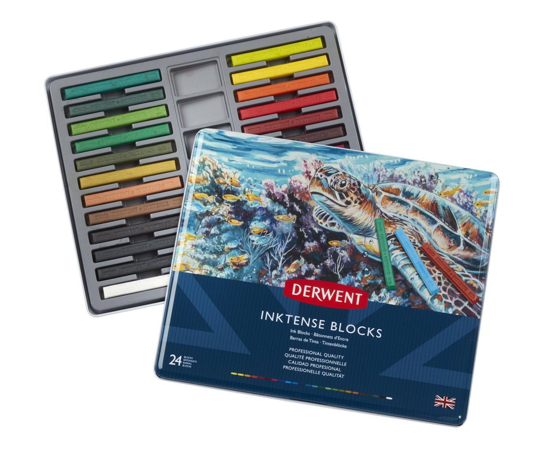 Derwent - Inktense Blocks, 24 Tin