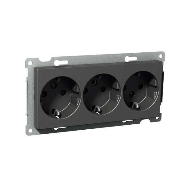 Schneider Electric Exxact Vekkuttak 3-veis, 16 A, skruetilkobling
