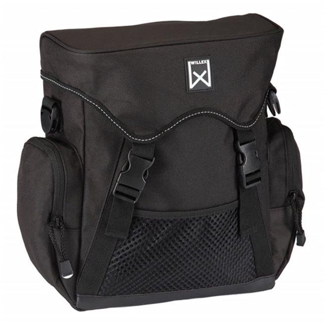 vidaXL Cykelväska XL 17 l svart