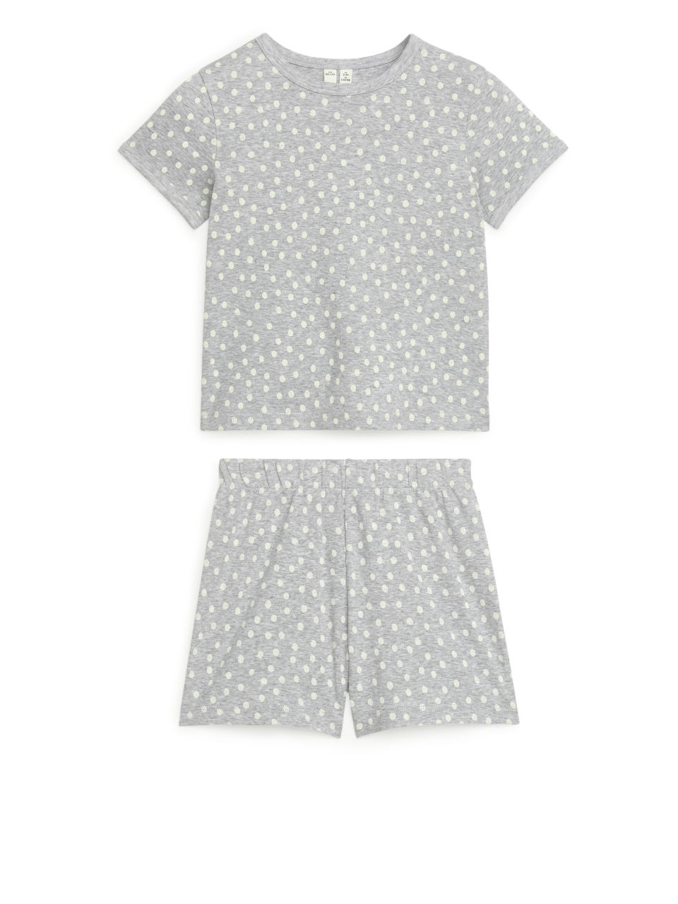 Short Jersey Pyjama Set - Grey