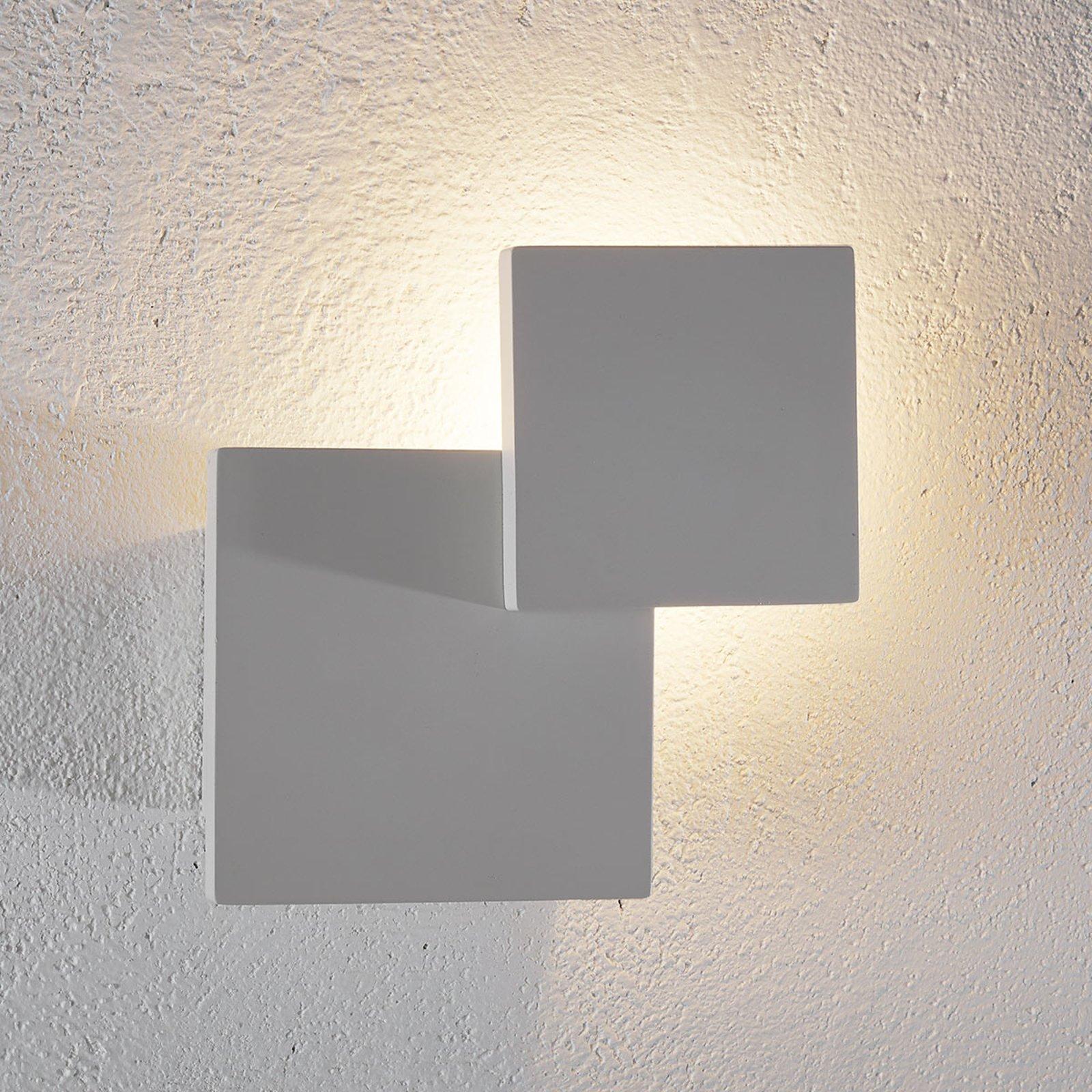 Interessant LED-vegglampe Tahiti