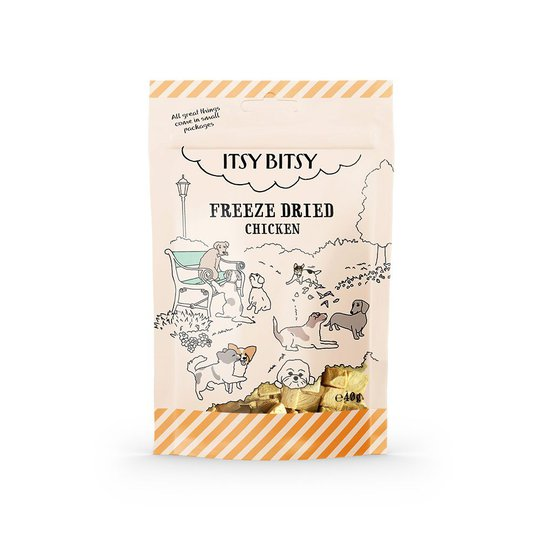 ItsyBitsy Dog Freeze Dried Chicken
