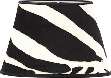 Lampeskjerm Oval Zebra