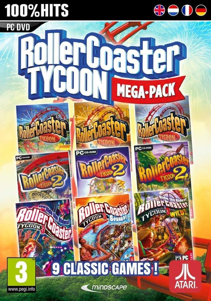 Rollercoaster Tycoon: 9 Mega Pack