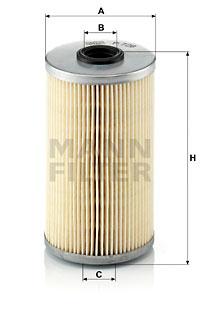 Polttoainesuodatin MANN-FILTER P 726 x