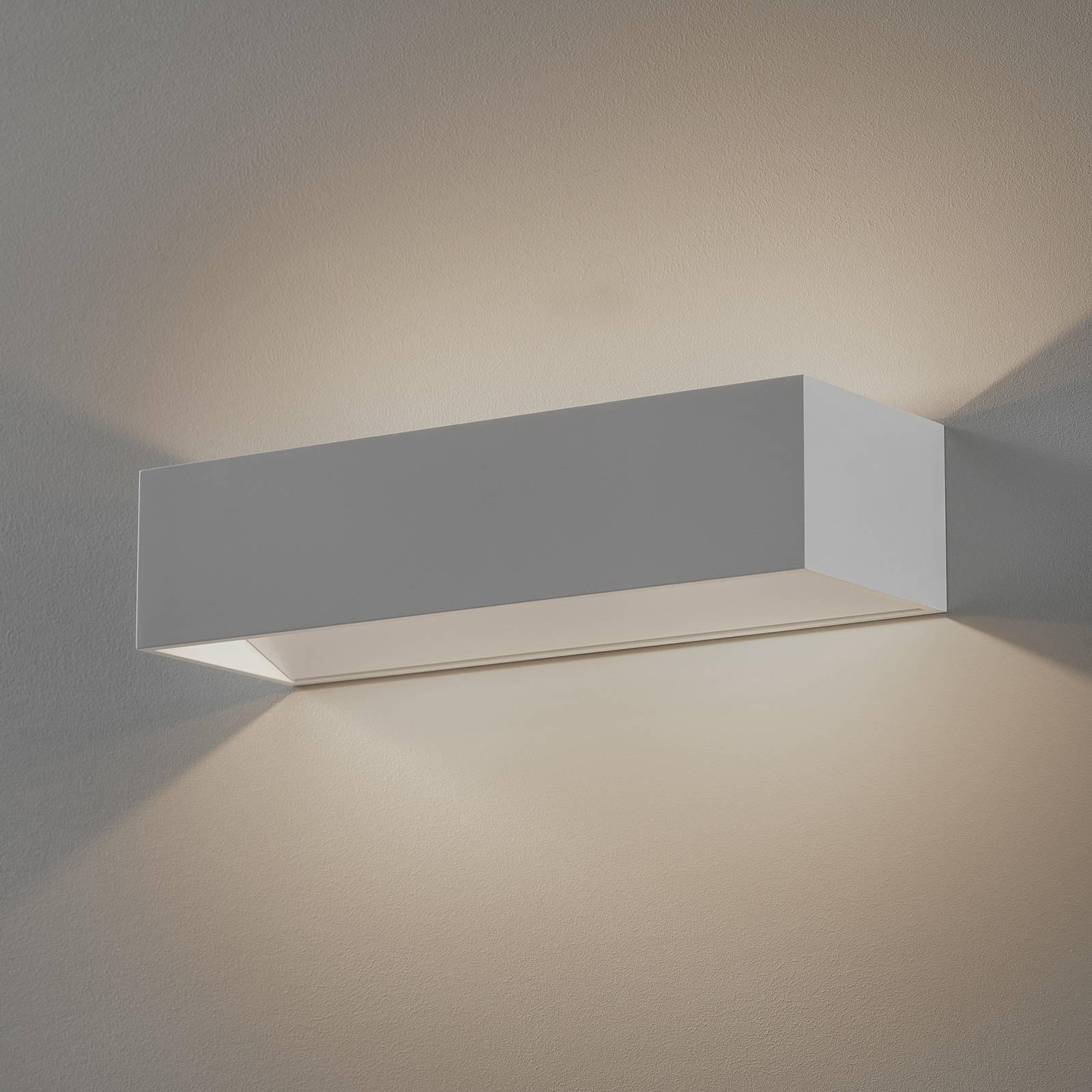 SLV Logs In LED-vegglampe, 30 cm, hvit/hvit