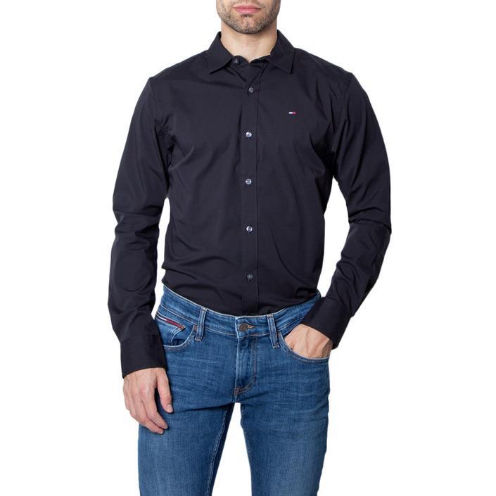 Tommy Hilfiger Men's Shirt Black 280691 - black 3XL
