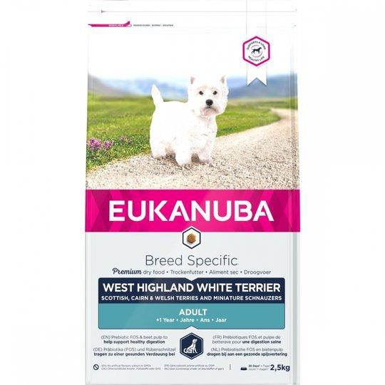 Eukanuba Dog Breed Specific West Highland Terrier (2,5 kg)