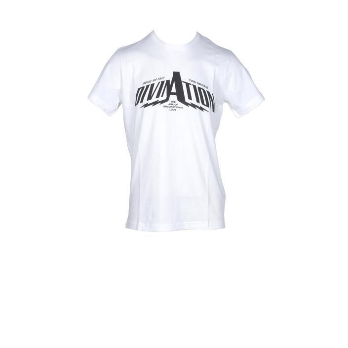 Diesel Men's T-Shirt White 181298 - white M