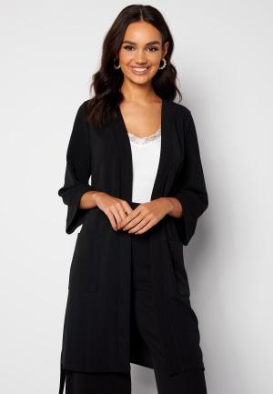Happy Holly Estelle long kimono Black 48/50