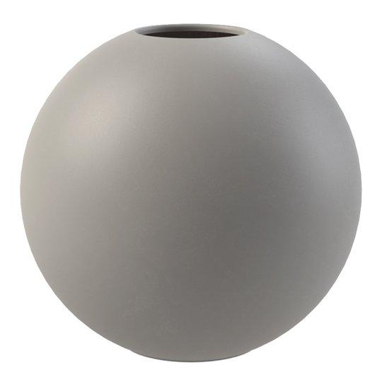 Cooee - Ball Vas 10 cm Grå