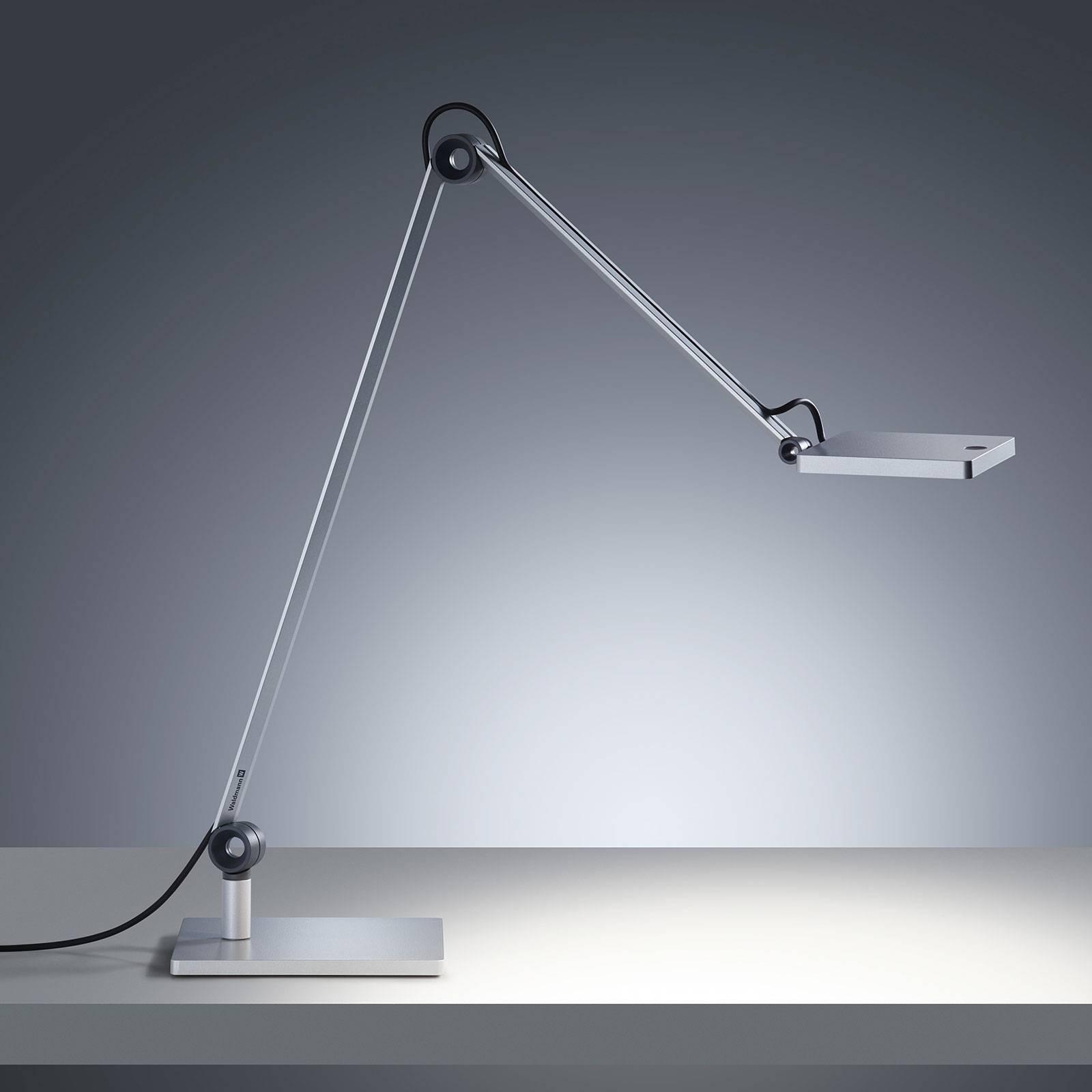 LED-pöytälamppu PARA.MI FTL 108 R hopea 940