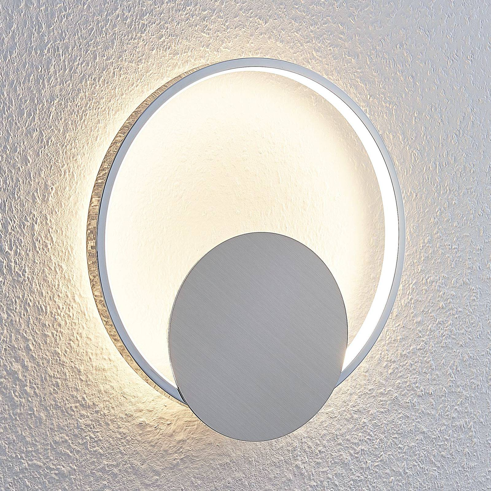 LED-seinävalaisin Anays, pyöreä, 32 cm