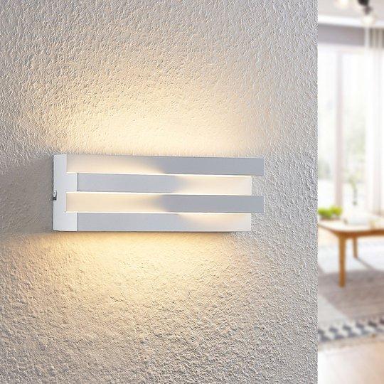 Arcchio Keanu -LED-seinävalaisin, valkoinen