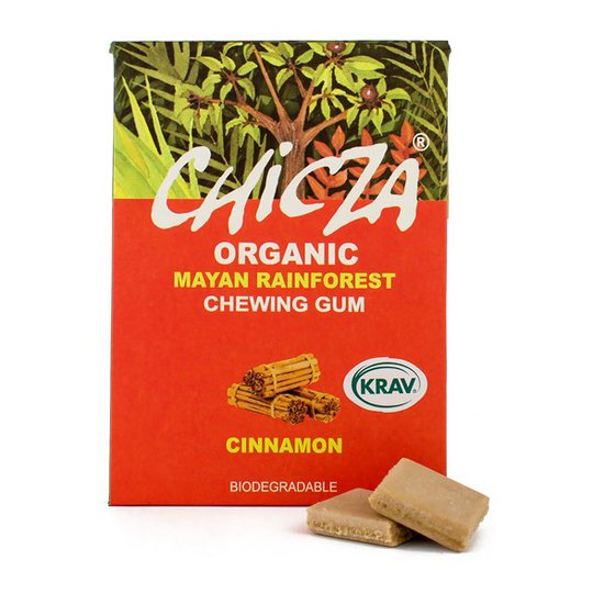 Chicza Ekologiskt Tuggummi Kanel, 30 g