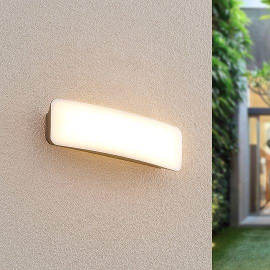 Lucande Lolke utendørs LED-vegglampe