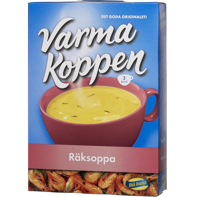 Varma Koppen Räksoppa 69g - 53% rabatt