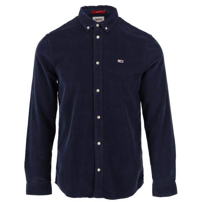 Tommy Hilfiger Jeans Men's Shirt Blue 306553 - blue XS