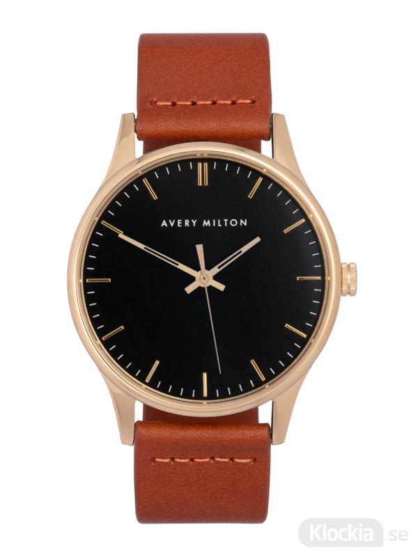 Avery Milton Como Brown Gold/Black 1192402120 Unisexklocka