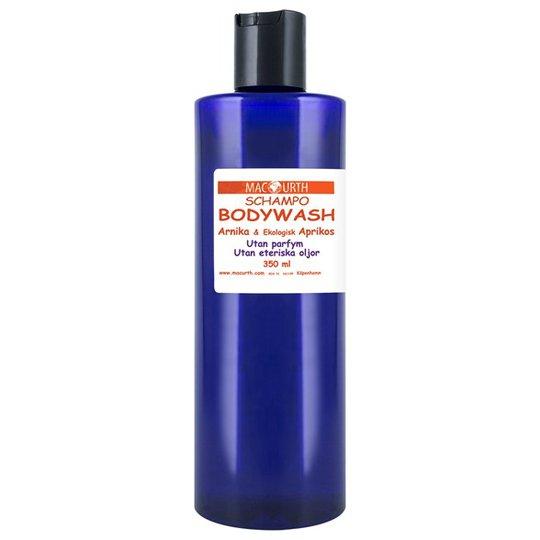 MacUrth Bodywash Arnika & Aprikos, 350 ml