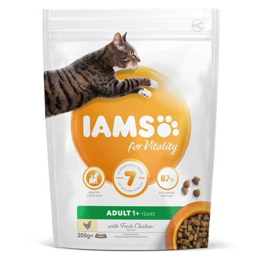 Iams for Vitality Cat Adult Chicken (10 kg)