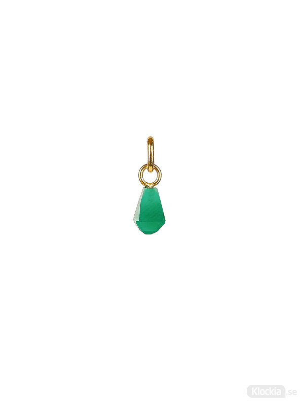 Syster P Berlock Beloved Cut Stone Gold - Green Onyx NG1335GO
