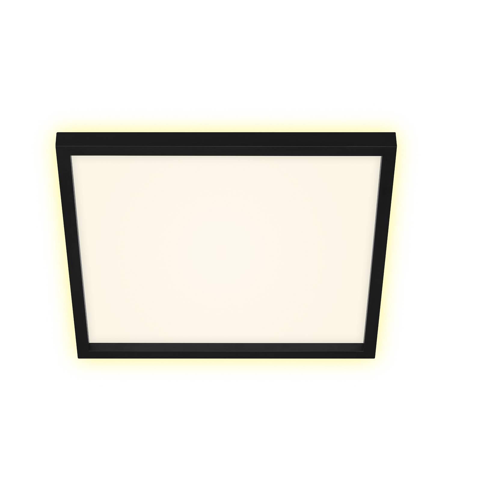 Prios Avira -LED-kattovalaisin, neliö, 42 cm