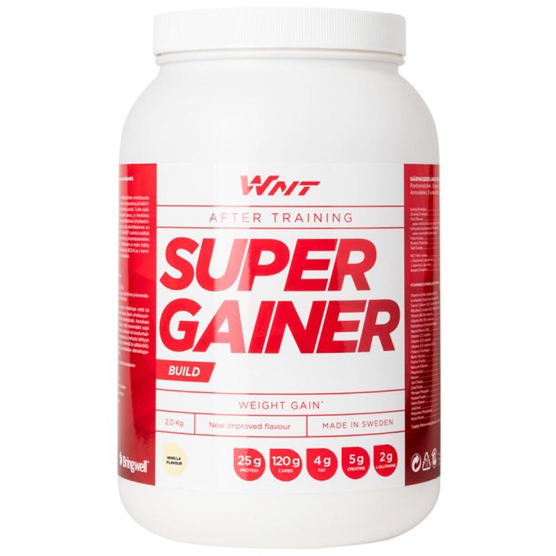 """Proteiinijauhe """"Super Gainer"""" Vanilja 2kg - 33% alennus"""