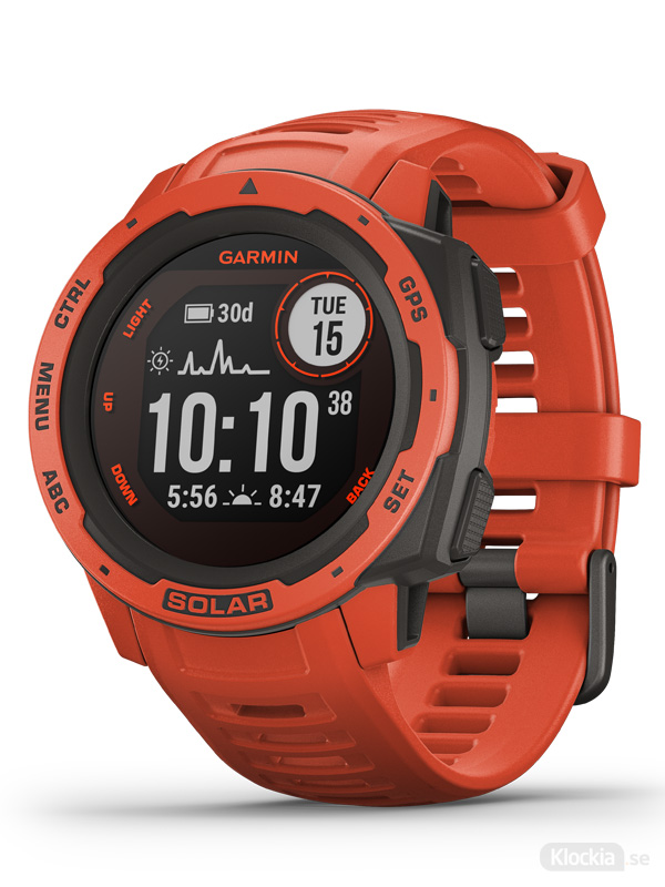 Garmin Instinct® Solar, Röd 010-02293-20
