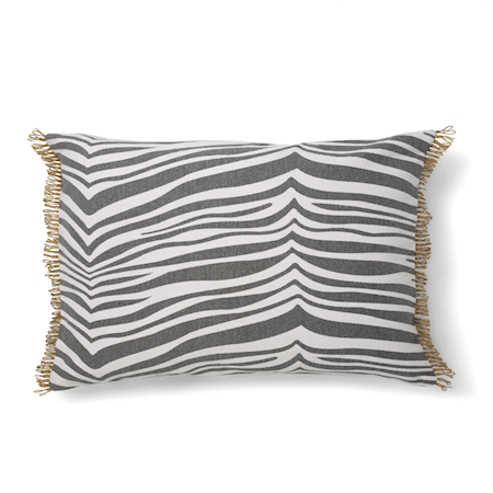 Zebra Kudde Titanium 40x60 cm