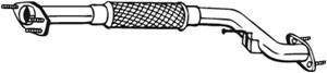 Pakoputki, Edessä, NISSAN ALMERA II, ALMERA Hatchback II, 20010BN700