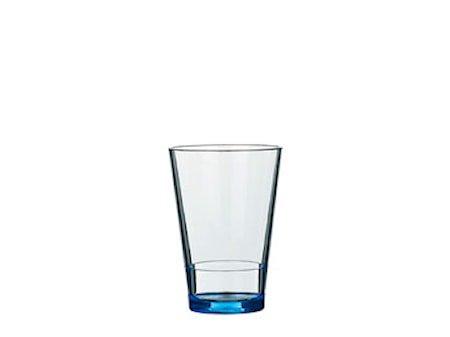Vandglas Flow 275ml Retro blå