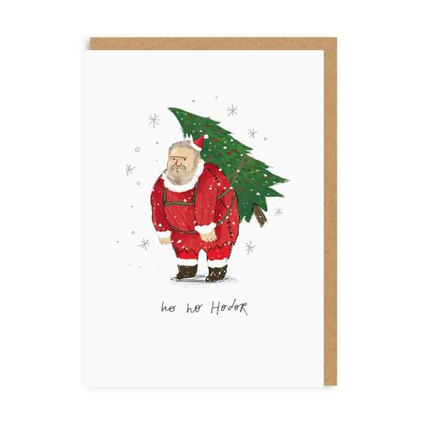 Ho Ho Hodor Christmas Card