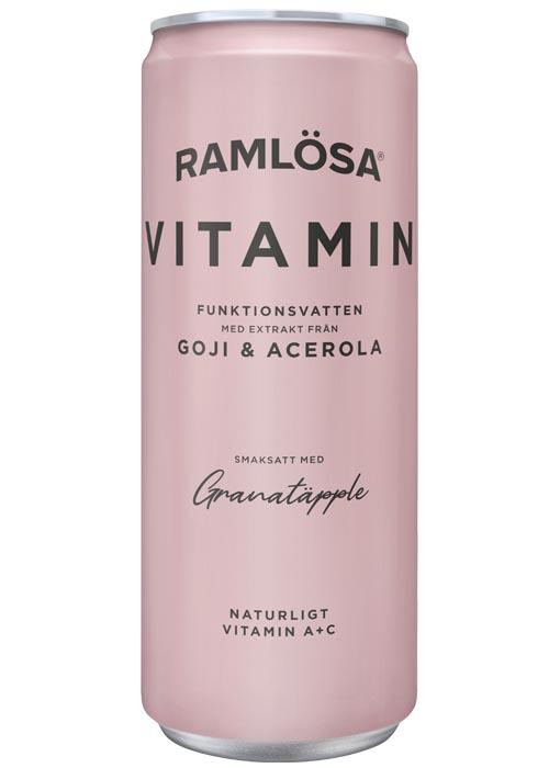 Ramlösa Funktionsvatten Vitamin 33cl