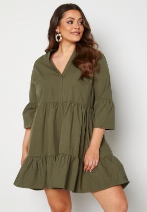 Only Carmakoma Corinne 3/4 Tunic Dress Kalamata 48