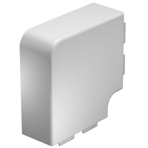 Obo Bettermann 6192947 L-kulma 90°, valkoinen 130 x 60 mm